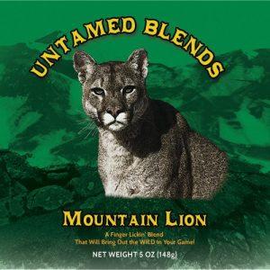 Mountain Lion Seasoning